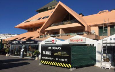 A MAKE constroi espaço comercial na Marina de Vilamoura.